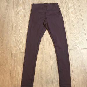 90 Degree By Reflex Purple Leggings Size S
